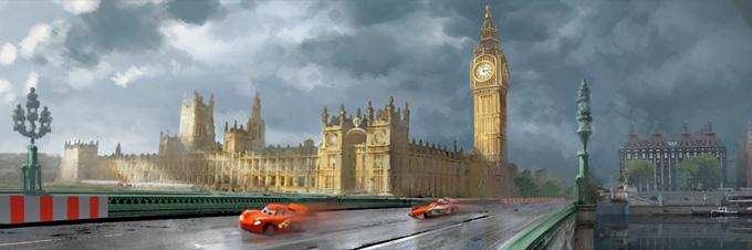 Cars 2 Concept Art 03a