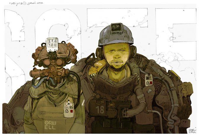 Rael Lyra concept art illustration 06