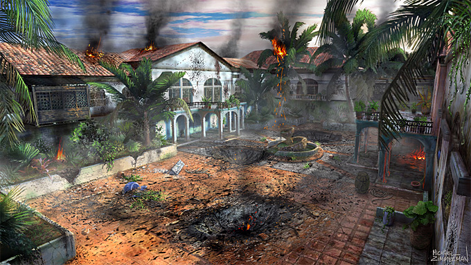 Michael Zimmerman Black Ops Concept Art 01a