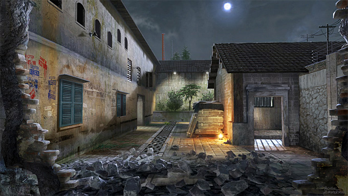 Michael Zimmerman Black Ops Concept Art 03a