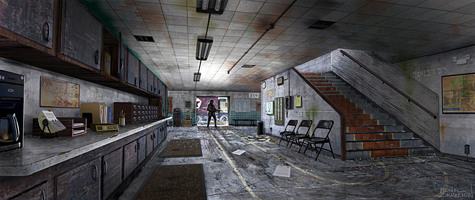 Michael Zimmerman Black Ops Concept Art 08a