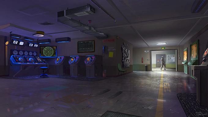 Michael Zimmerman Black Ops Concept Art 09a