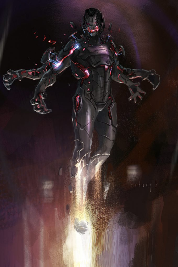 Rodney Fuentebella Concept Art Age of Ultron 01