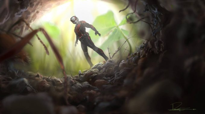 Rodney Fuentebella Concept Art Ant Man 01