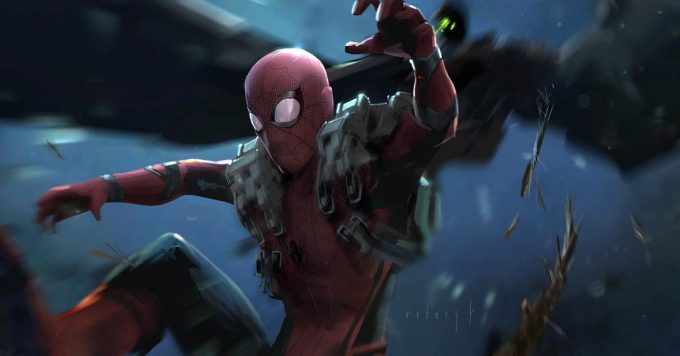 Rodney Fuentebella Concept Art homecoming spiderman 01