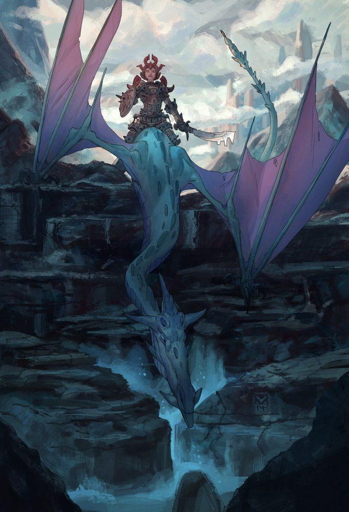 tim mcburnie concept art illustration Dragon Crest 02