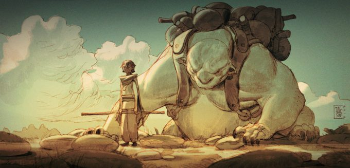 tim mcburnie concept art illustration The Amber Road