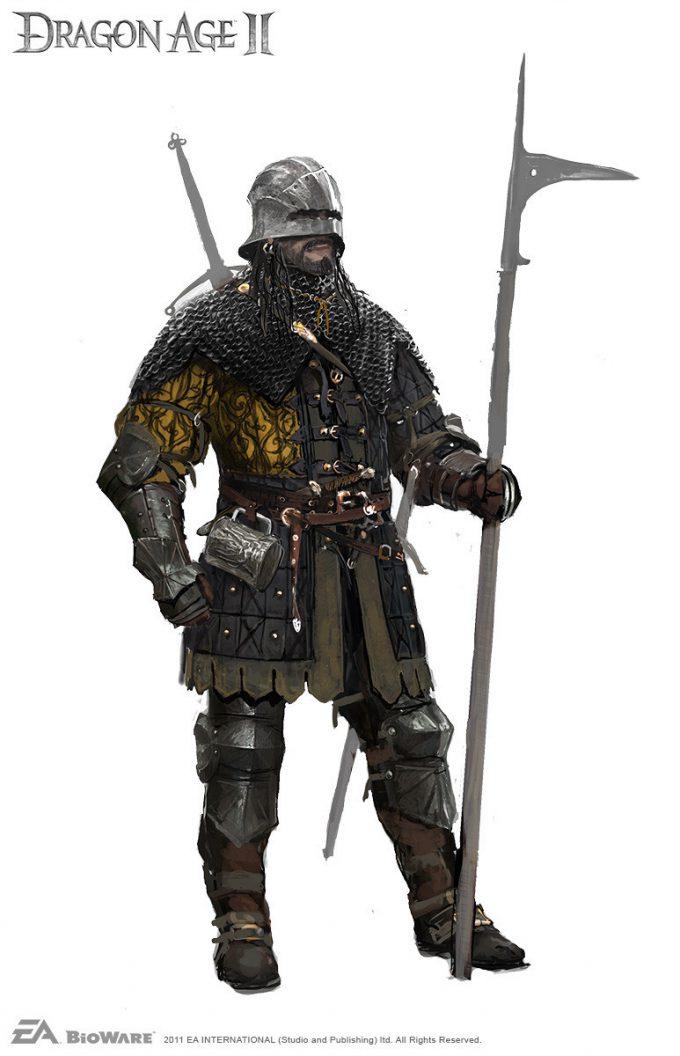 ville valtteri kinnunen concept art dragon age 2 armour1