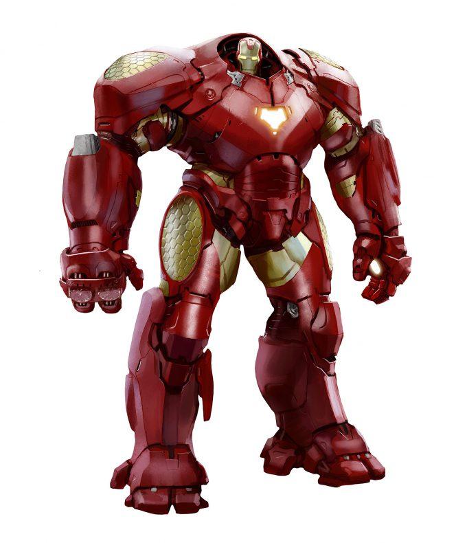 ville valtteri kinnunen concept art iron man ios hulkbuster