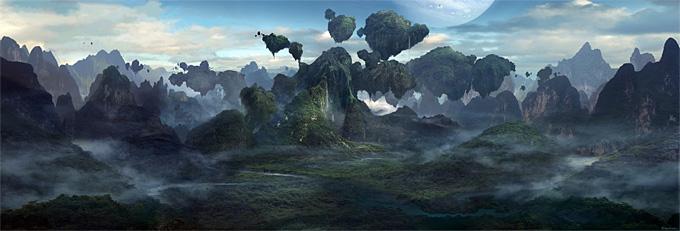 Avatar Concept Art Seth Engstrom 05a