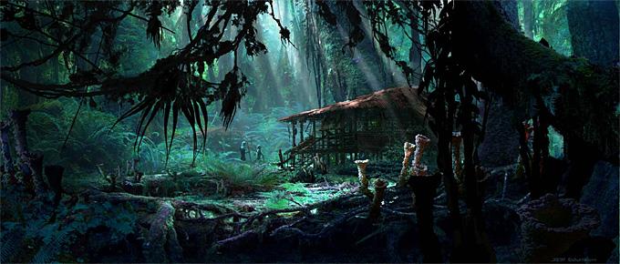 Avatar Concept Art Seth Engstrom 09a