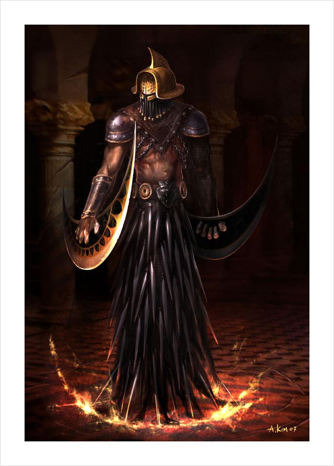 God of War 3 Andrew Kim 09a