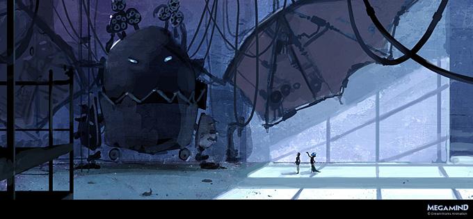 Megamind Concept Art by Goro Fujita 01a