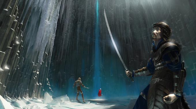 Concept Art and Illustrations by Nathan Schroeder
