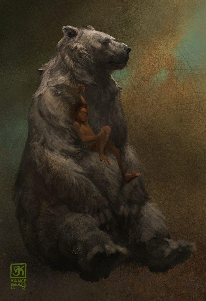 Vance Kovacs Concept Art bahloo mowgli23