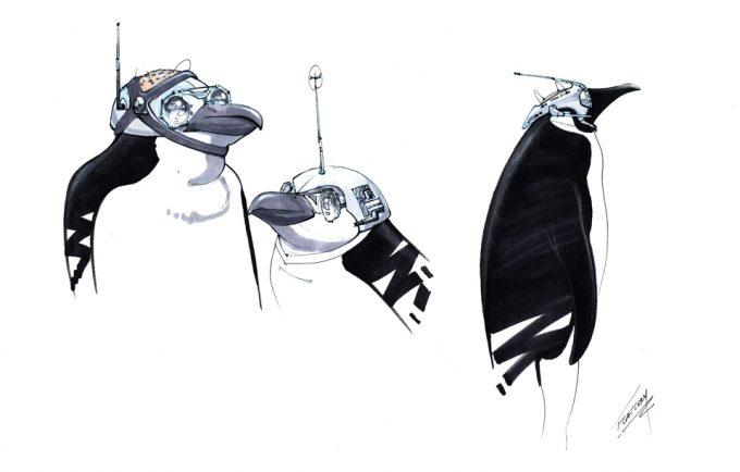 Batman Returns Concept Art Tim Flatery Penguin 004