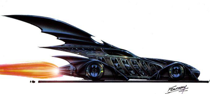 Batmobile concept art Tim Flattery 15