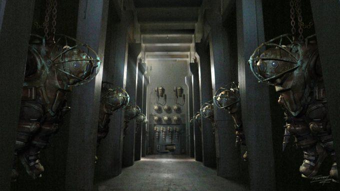 Bioshock game concept art Tim Flattery 09
