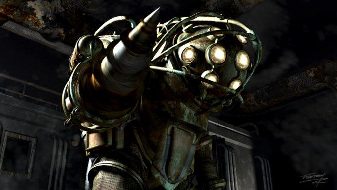 Bioshock game concept art Tim Flattery 10