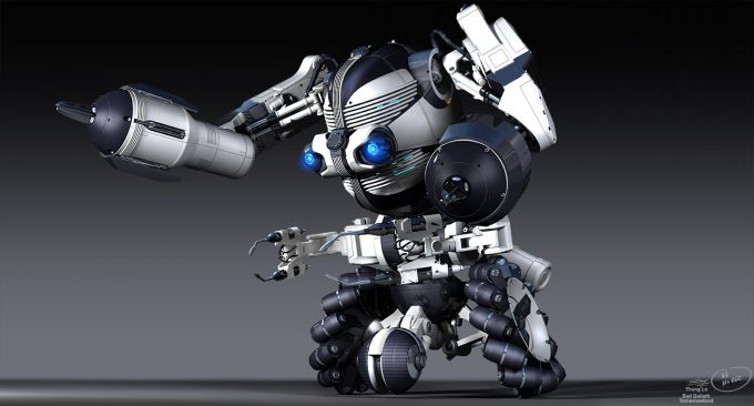 Tomorrowland concept art robot TF 21