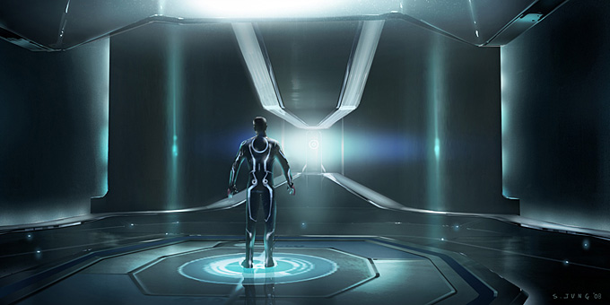 Tron Concept Art by Steve Jung 02a
