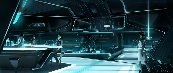 Tron Concept Art by Steve Jung 04a