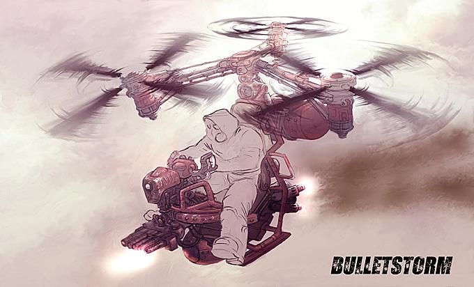 Bulletstorm Concept Art 01a