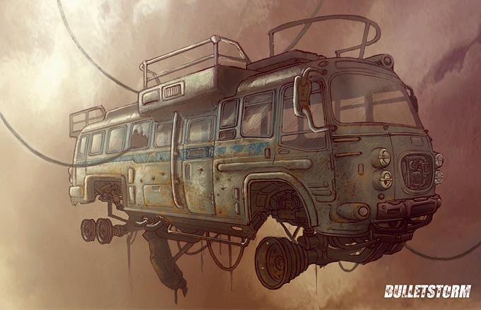 Bulletstorm Concept Art 06a