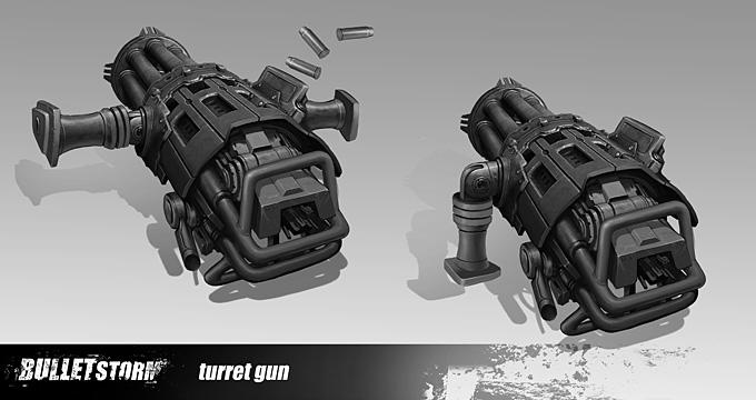 Bulletstorm Concept Art 08a