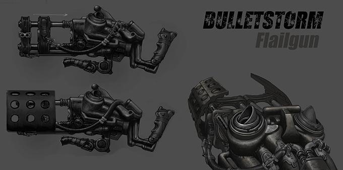 Bulletstorm Concept Art 12a