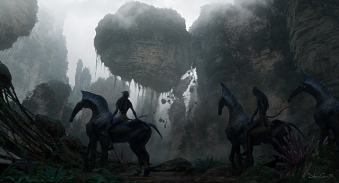 Avatar Concept Art by Dylan Cole 16a