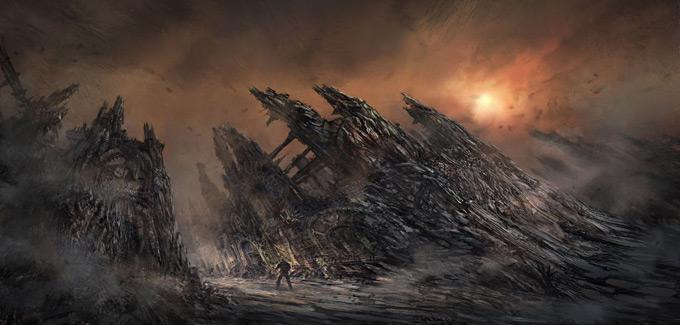 Gears of War 3 Concept Art 07a