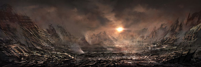 Gears of War 3 Concept Art 08a