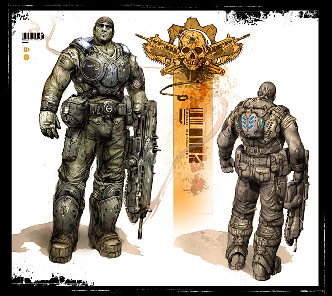 Gears of War 3 Concept Art 09a