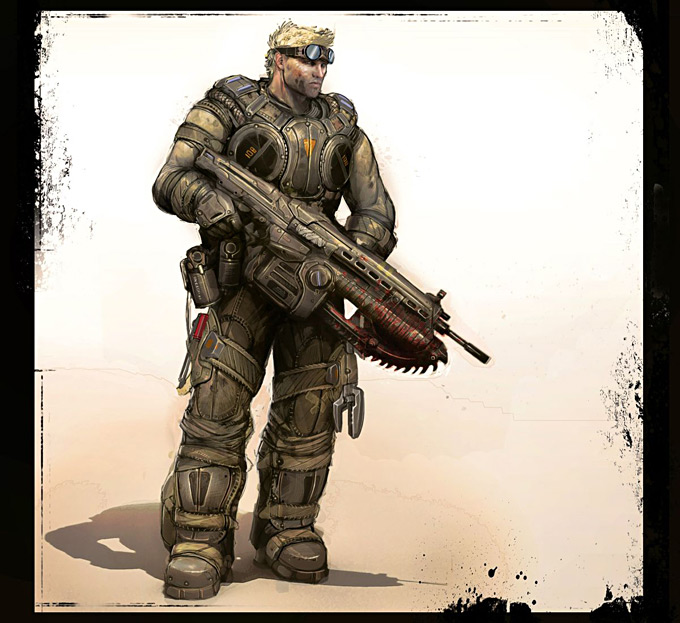 Gears of War 3 Concept Art 15a