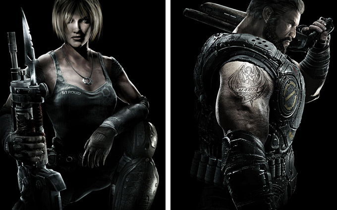 Gears of War 3 Concept Art 16a