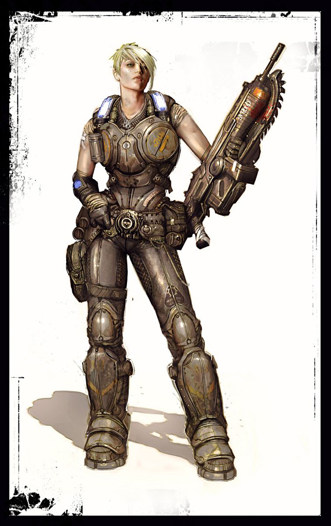 Gears of War 3 Concept Art 17a1