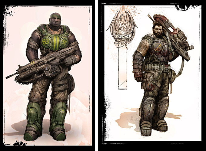 Gears of War 3 Concept Art 18a