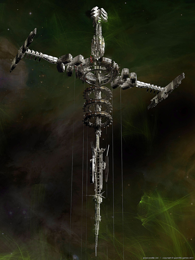 Kill Zone 3 Concept Art by Jesse van Dijk 06a
