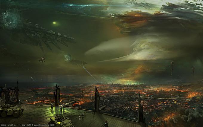 Kill Zone 3 Concept Art by Jesse van Dijk 08a