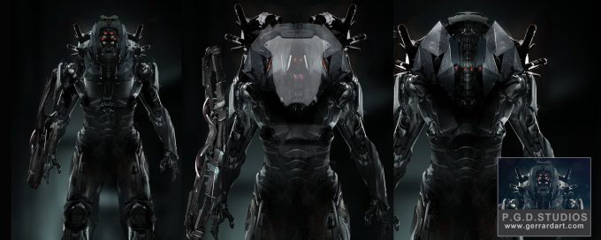 paul gerrard robots
