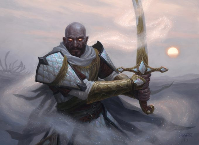Christopher Rahn art illustration Abzan Battle Priest