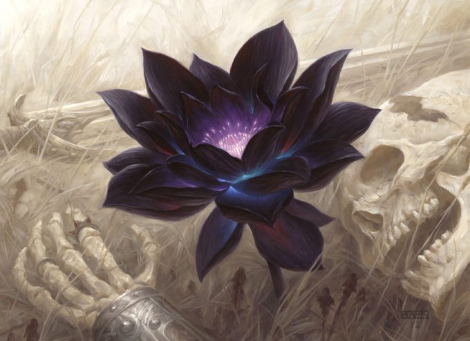Christopher Rahn art illustration Black Lotus