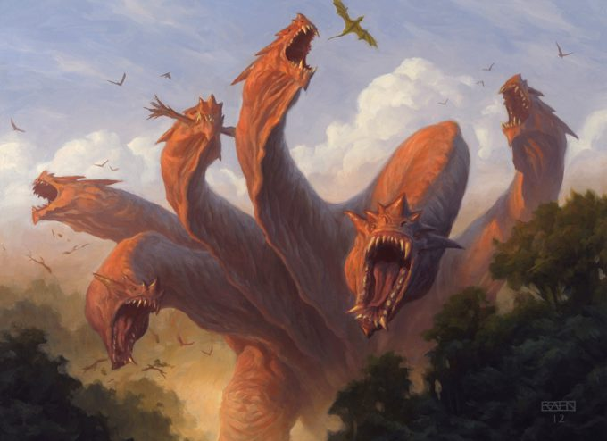 Christopher Rahn art illustration Kalonian Hydra