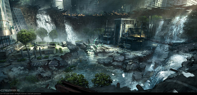 Crysis 2 Concept Art by Dennis Chan 01a