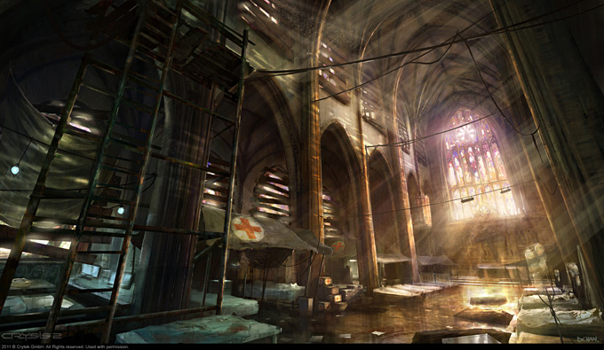 Crysis 2 Concept Art by Dennis Chan 02a