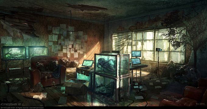 Crysis 2 Concept Art by Dennis Chan 04a