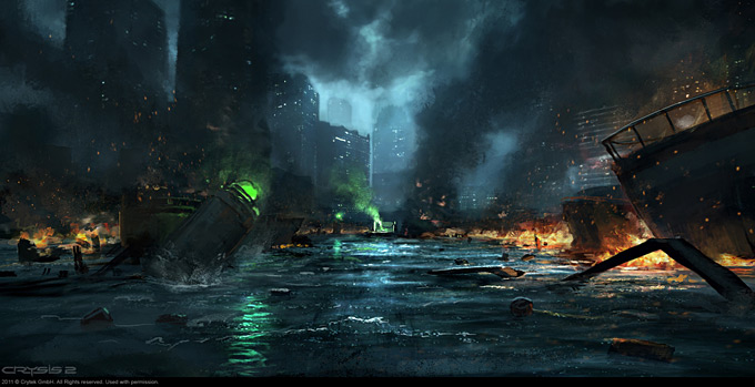 Crysis 2 Concept Art by Dennis Chan 05a