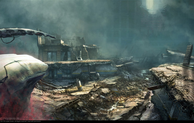Crysis 2 Concept Art by Dennis Chan 06a