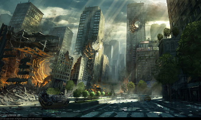 Crysis 2 Concept Art by Dennis Chan 07a